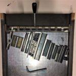Proceso de producción de Tipos en su Tinta para nuestra edición especial del día de canarias, chocolates artesano