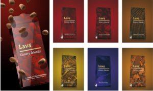 IMAGEN DE LAVA, CHOCOLATES DE CANARIAS